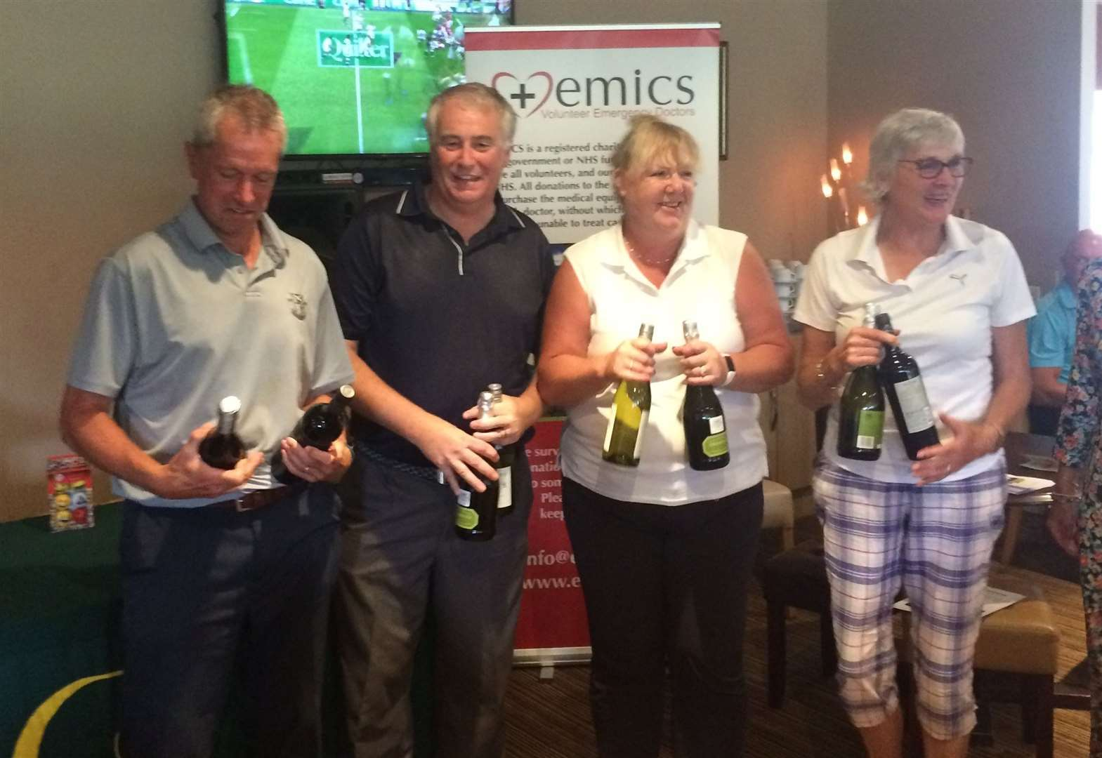 Golfers defy the elements in Captains Weekend at Greetham Valley