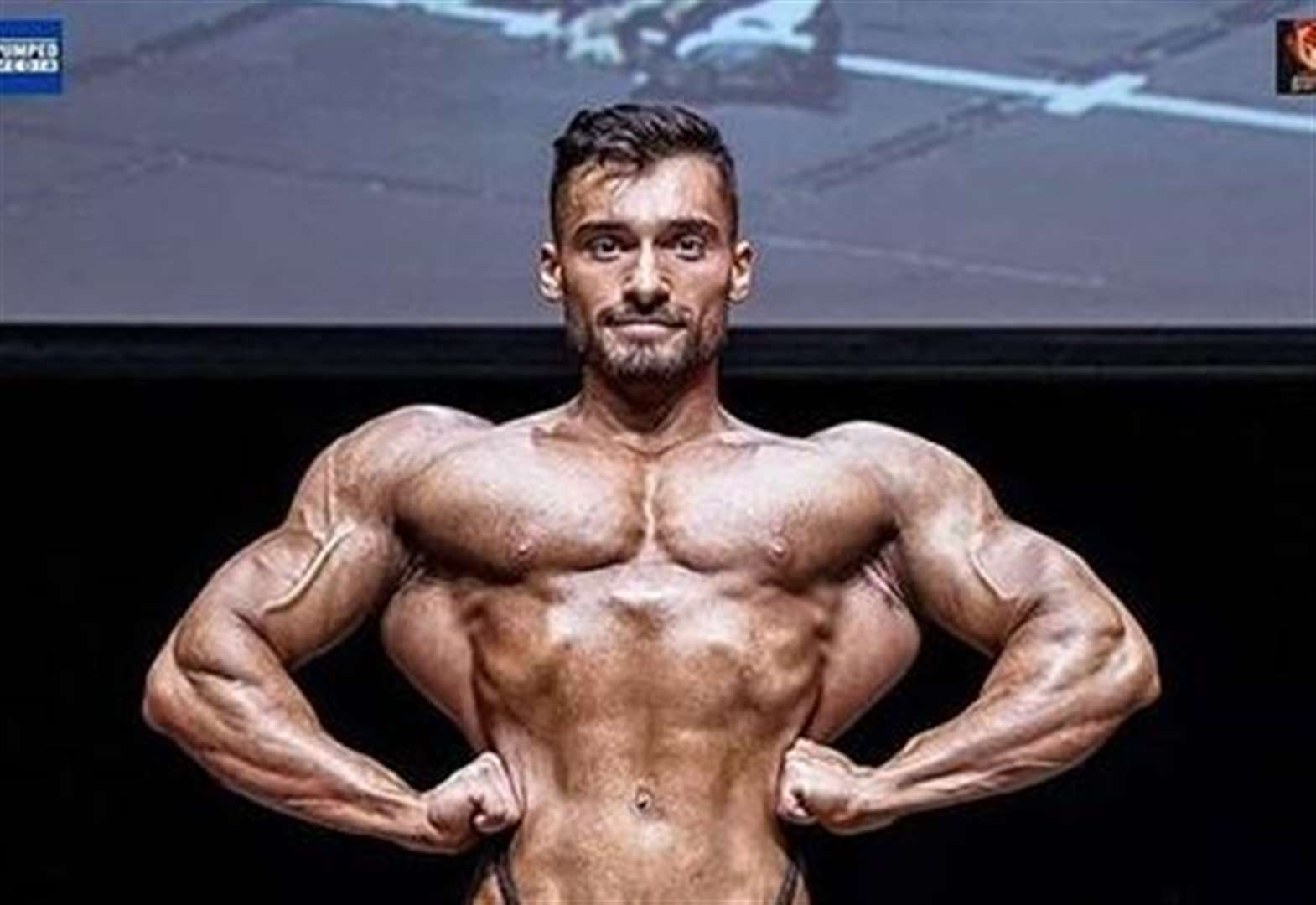 Gym instructor wins Mr Universe title
