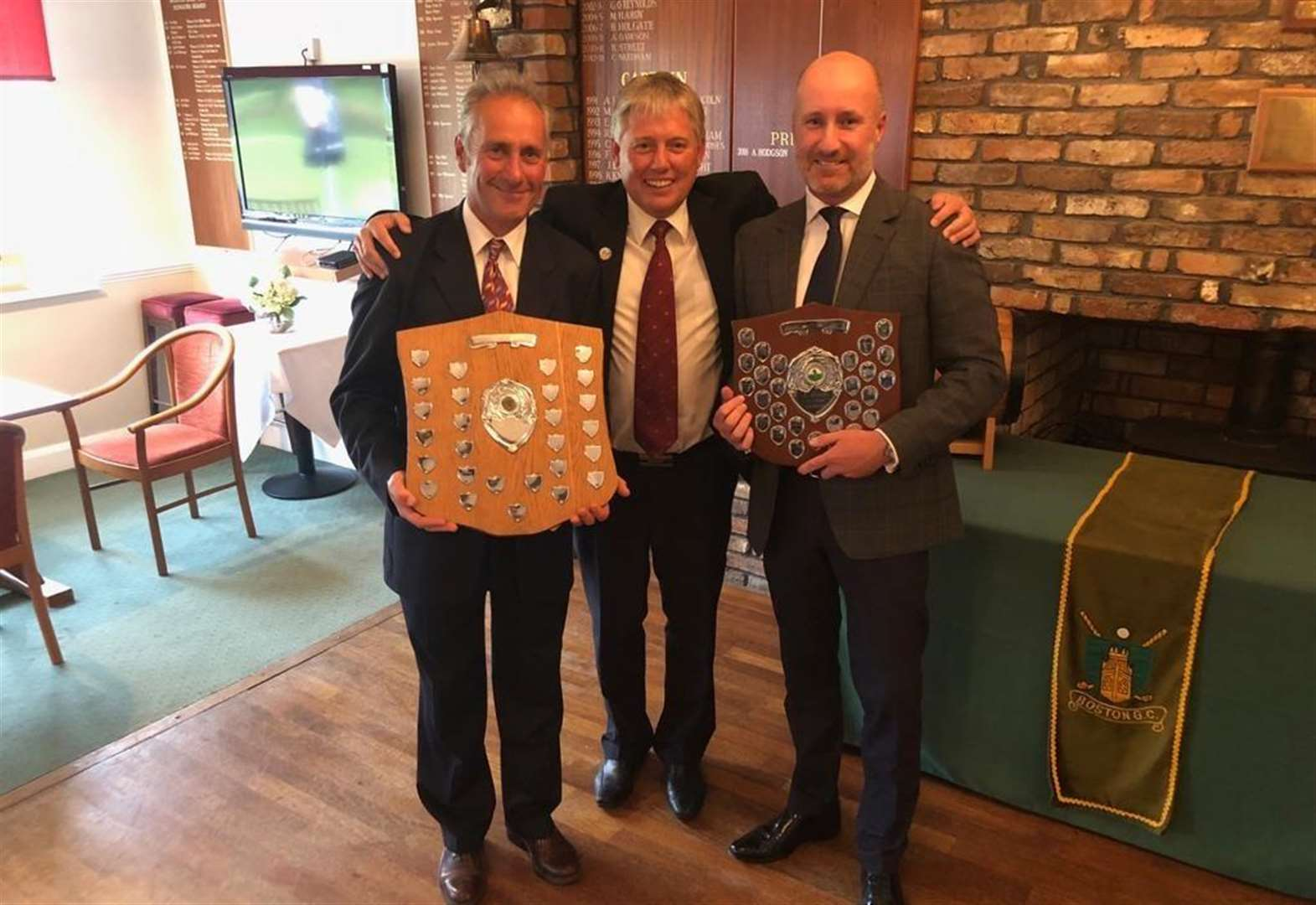 GOLF: Greetham on the trophy trail at league's awards night