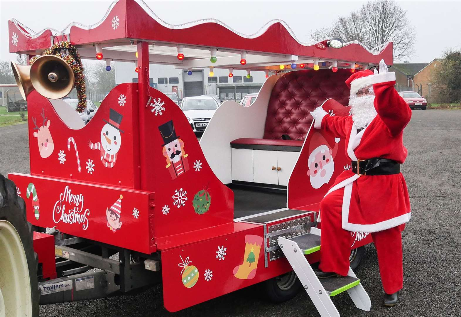 Santa is coming to the streets of Oakham and Uppingham