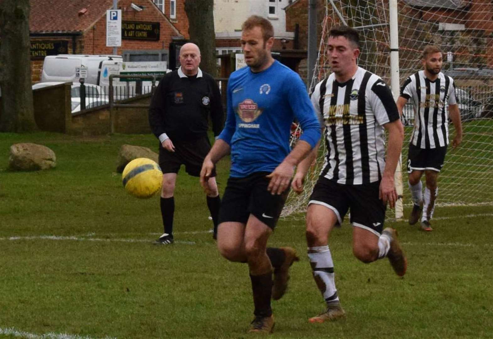FOOTBALL: Uppingham secure second semi-final spot