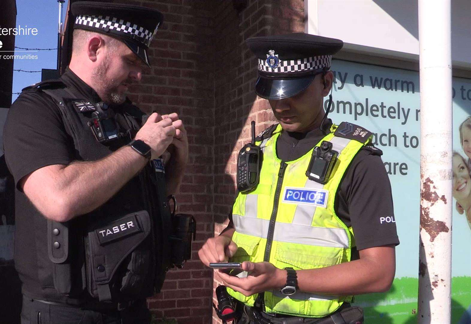 New mobile phone technology aids police