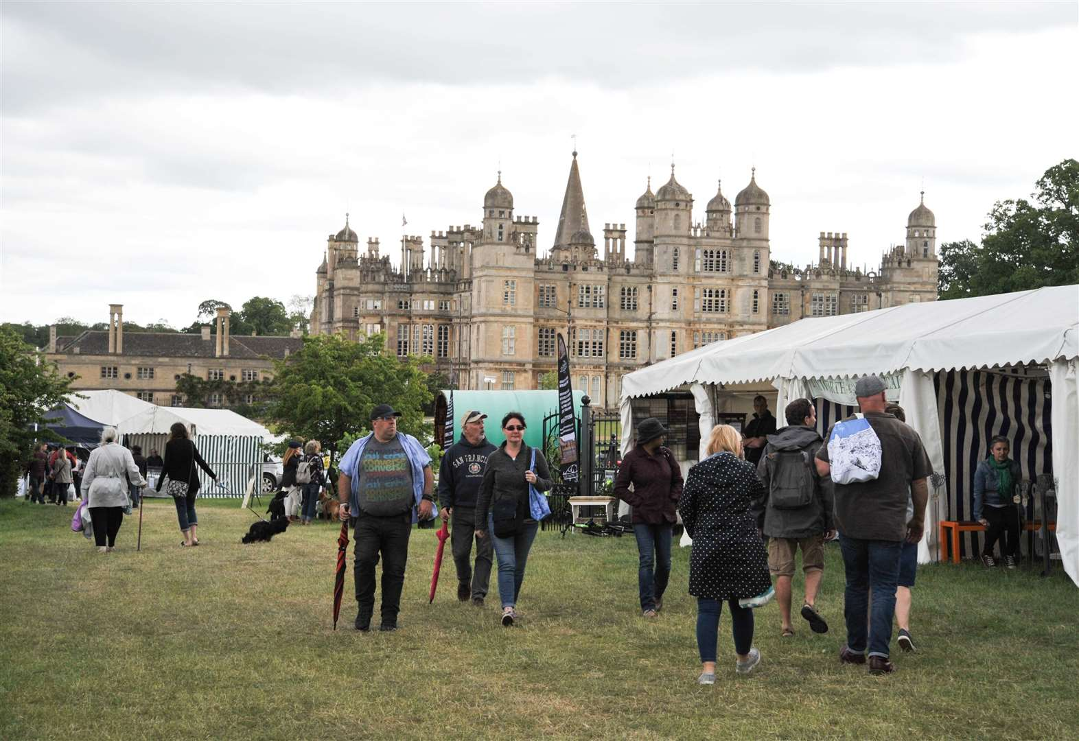 Burghley House event brings bin the crowds