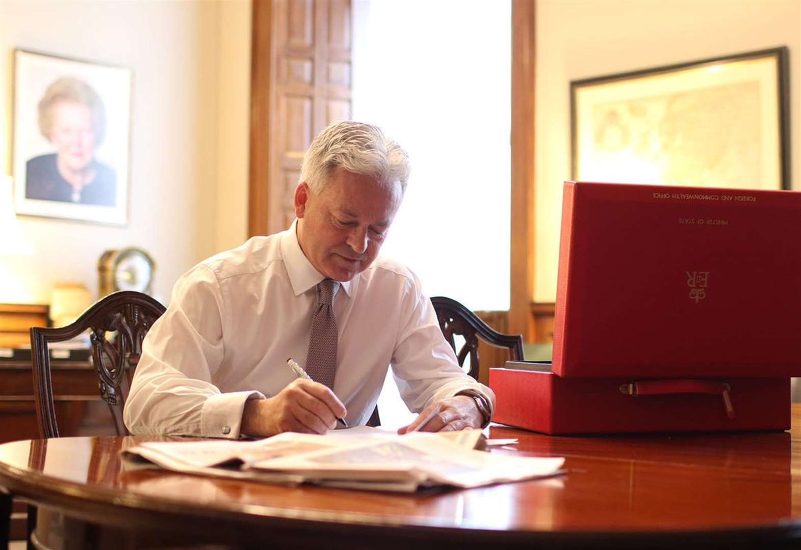 Rutland MP Alan Duncan trends on Twitter following President Trump comments