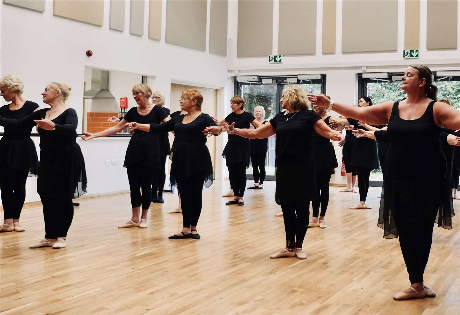 Ballet class will keep over 55s on their toes