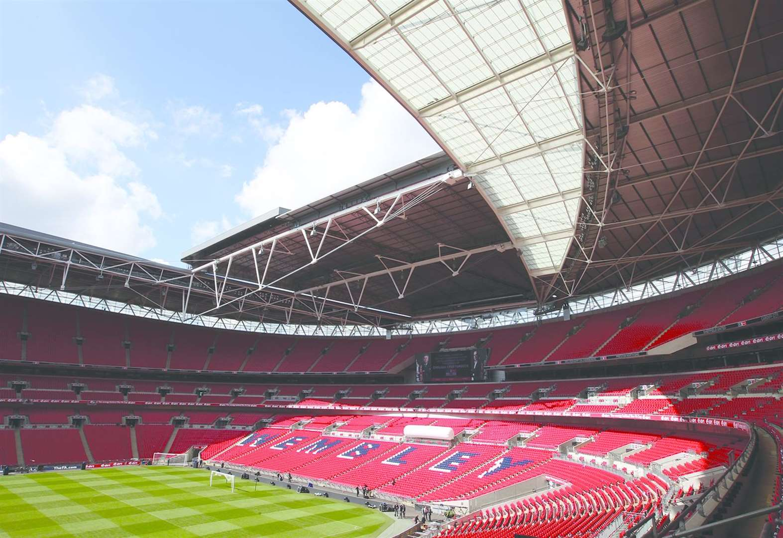 Cottesmore are off to Wembley in bid to land ground improvement bonanza