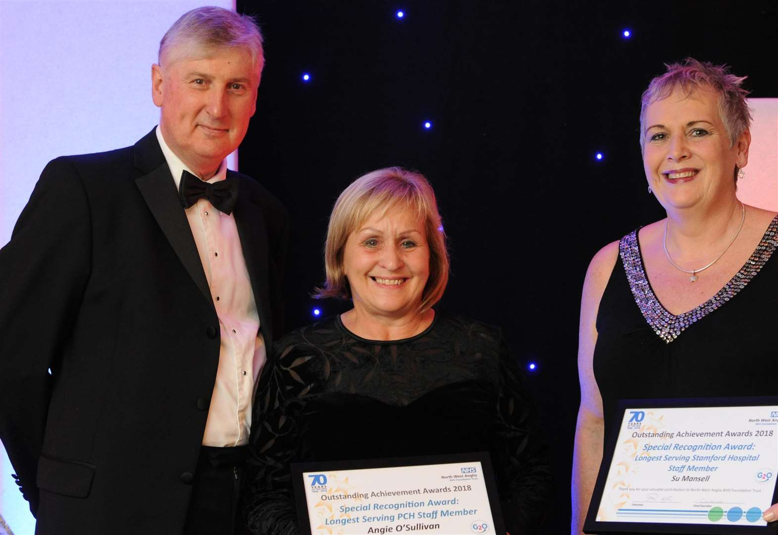 Stamford Hospital heroes are recognised for work