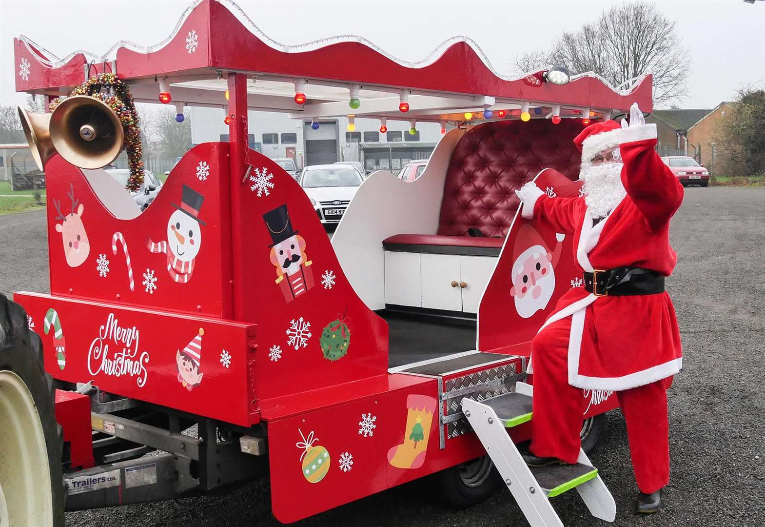 Sleigh routes: Where to see Santa in Rutland
