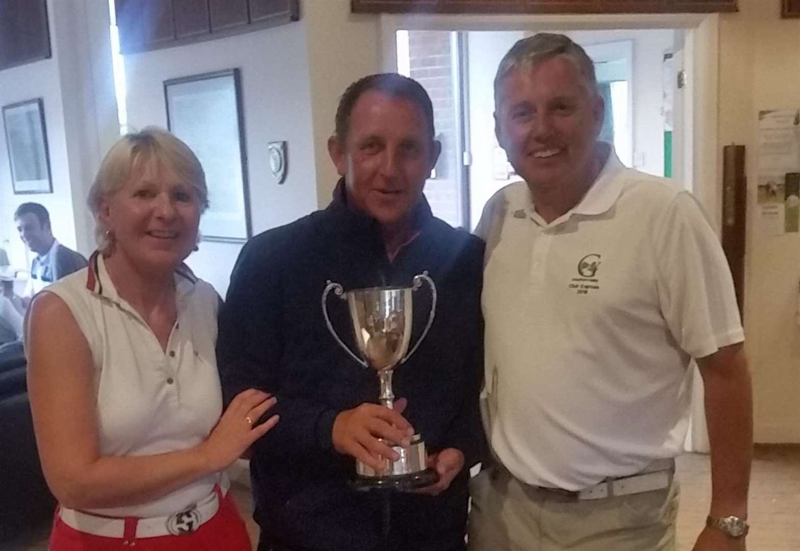 GOLF: Trevor and Sophie are champions after Greetham Valley glory