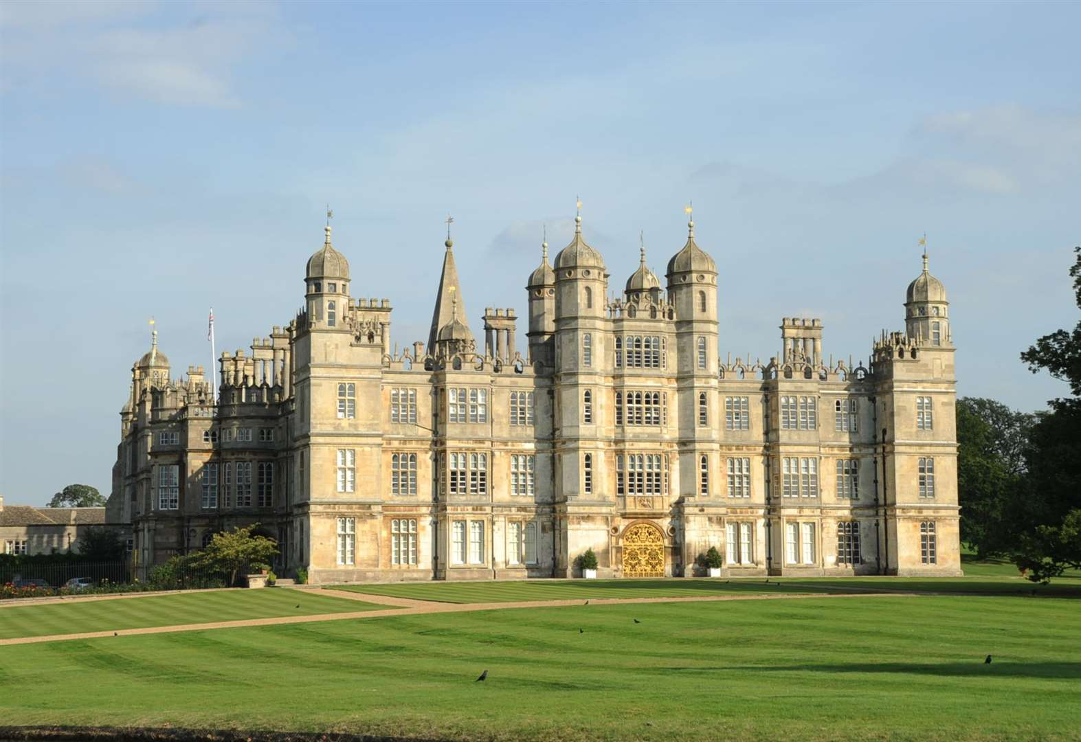 Revealed: what's being filmed at Burghley House