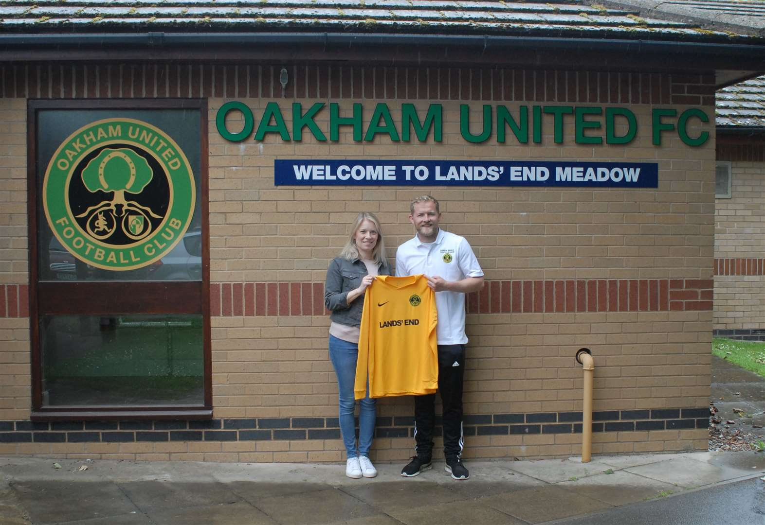 Oakham land biggest sponsorship deal in club's history