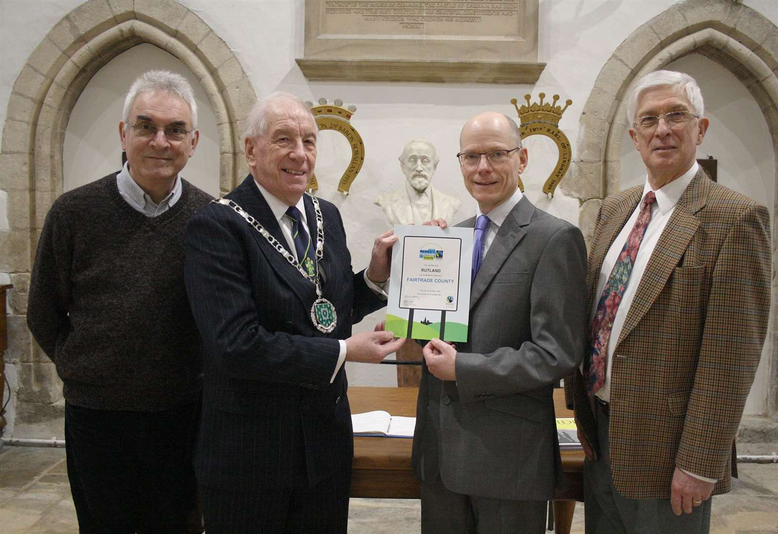 Fairtrade Fortnight in county