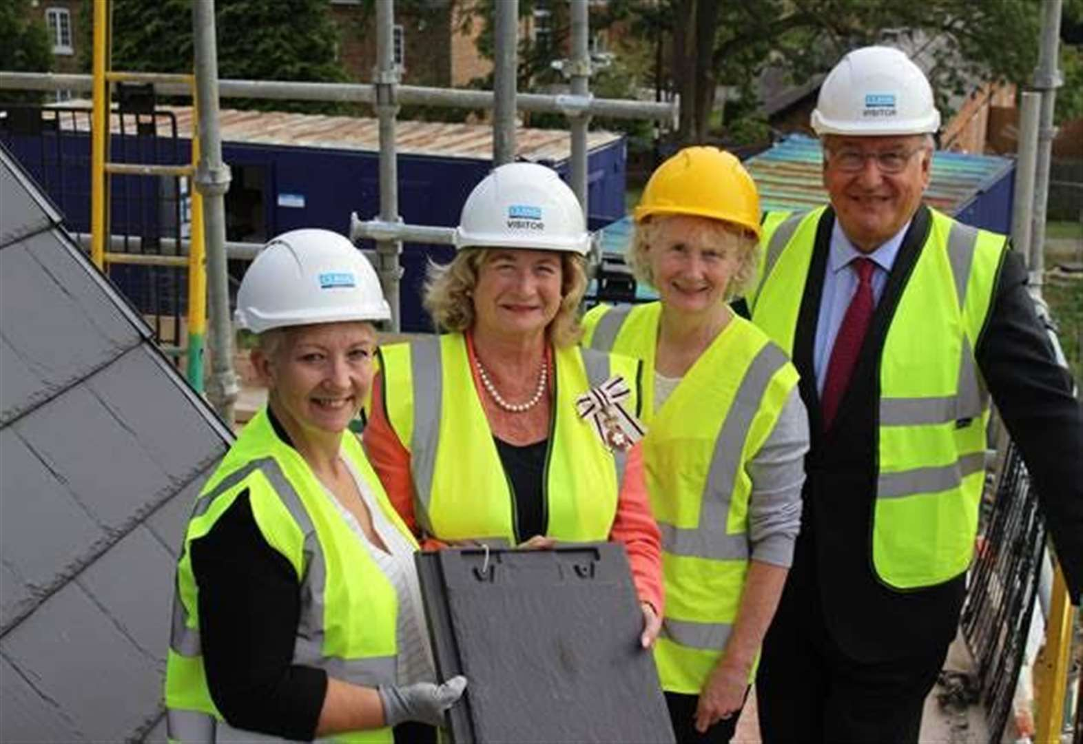 Oakham Grange care home has 'topping out' ceremony