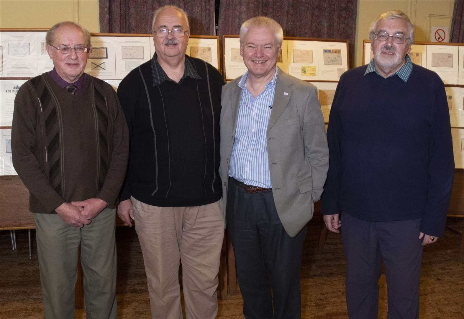Rutland Philatelic Society celebrates 40th anniversary with Frank Walton