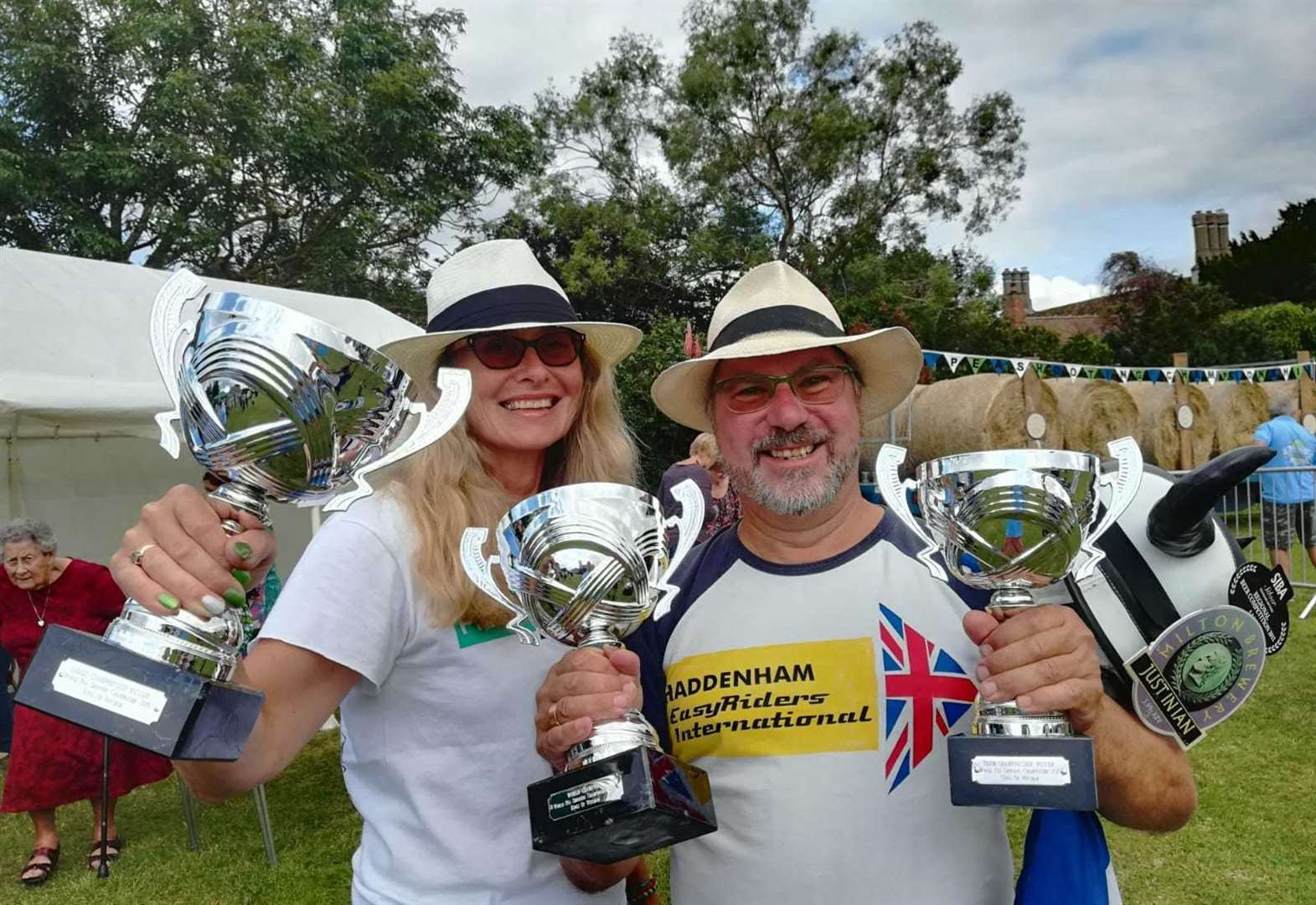 Sally defends world pea shooting title