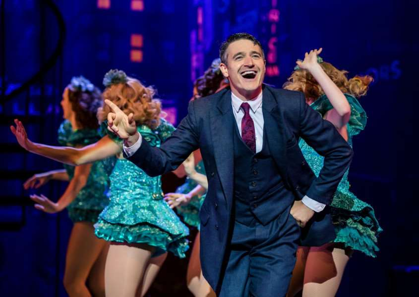 Tom Chambers as Bobby in Crazy For You. Picture by Richard Davenport