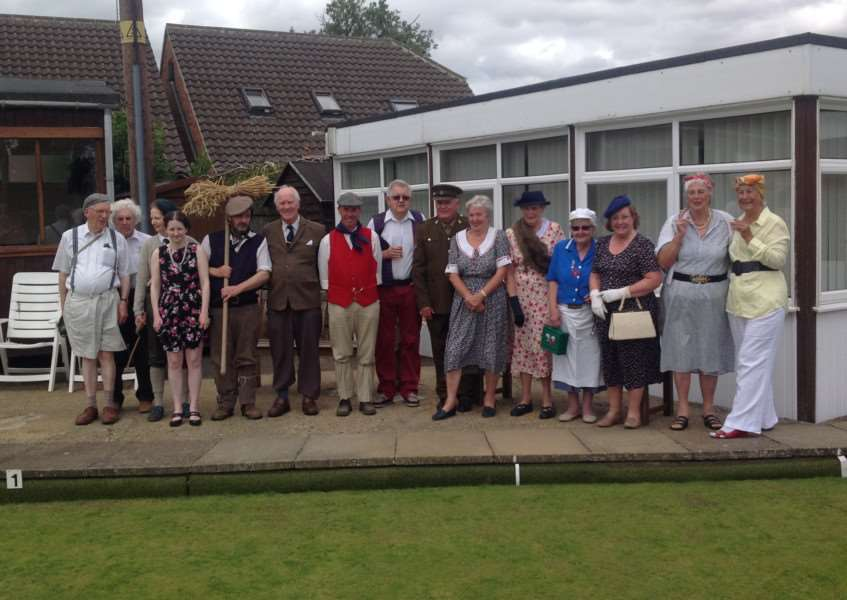 Market Overton Bowls Club presidents day 2015