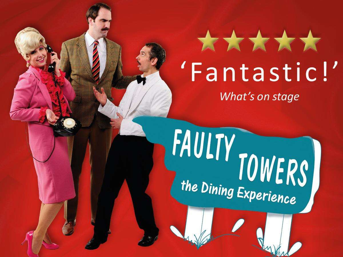 The Oakham Festival includes the acclaimed Faulty Towers Dining Experience