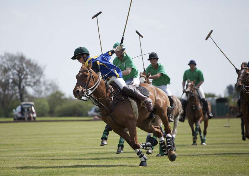 Marcus Speed turned his full focus to polo after a broken neck forced him to give up rugby Picture: Steve Carr Photography EMN-161124-135713002