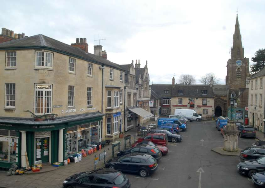 Market Place, Uppingham. File picture.'Photo: MSMP240214-024ow EMN-140224-175158001