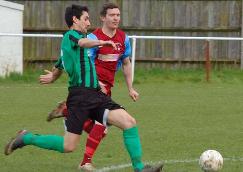 Addie Staffieri is a transfer target for Oakham United.