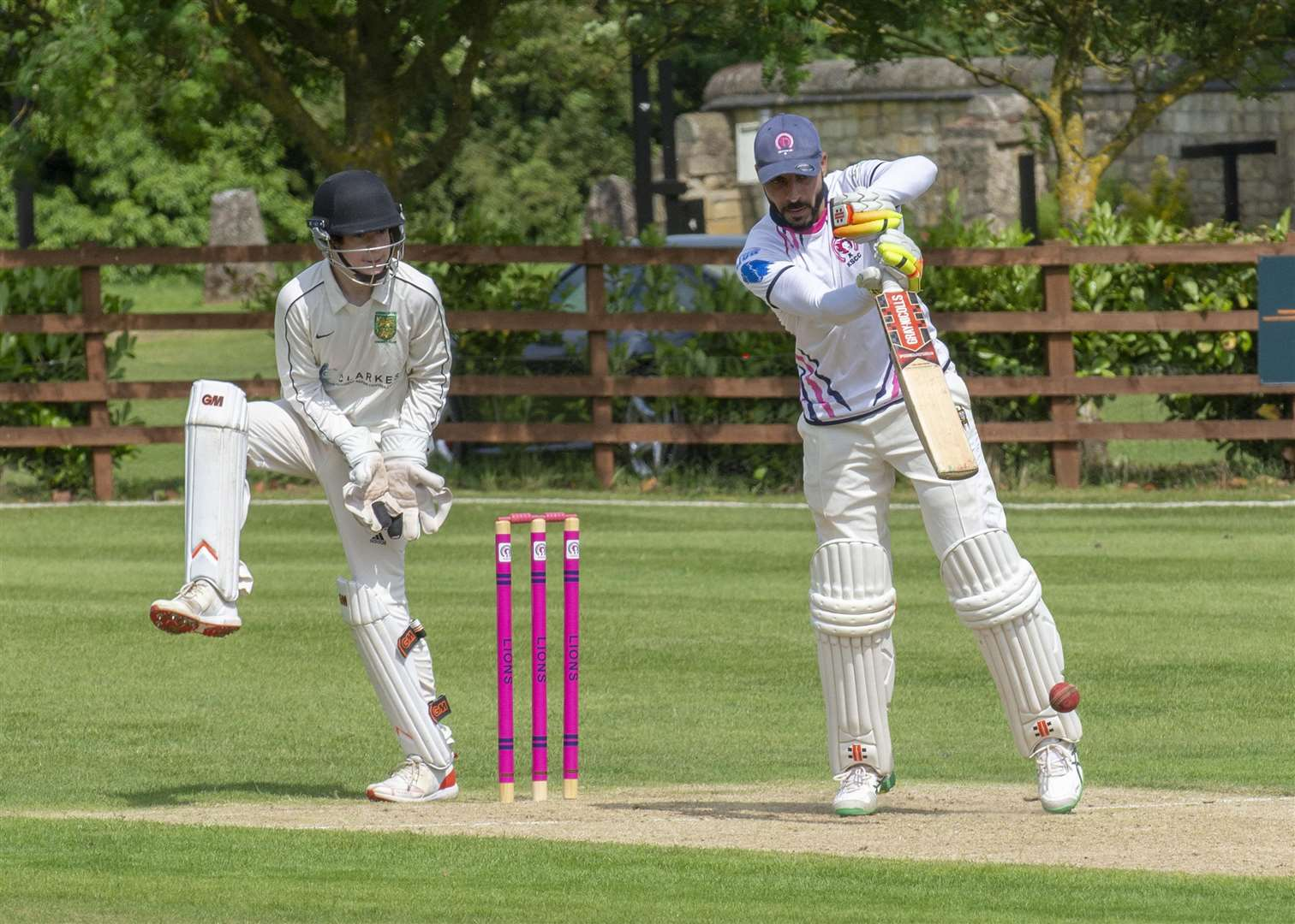 Match action from Ketton Sports v Kibworth 3rds. Photo: LEE HELLWING (2347422)