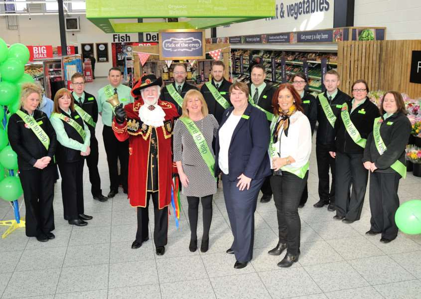The reopening of the new Co-op in Oakham'Photo: Chadwicks EMN-160703-094843001